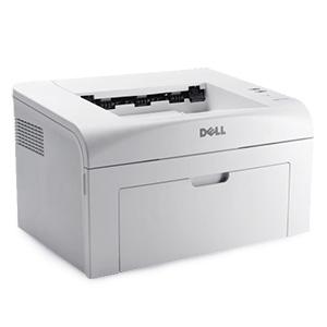 Monochromatyczna, czarno-biała drukarka laserowa Dell 1110