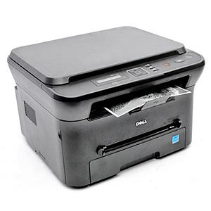 Monochromatyczna, czarno-biała drukarka laserowa Dell 1133, urządzenie wielofunkcyjne
