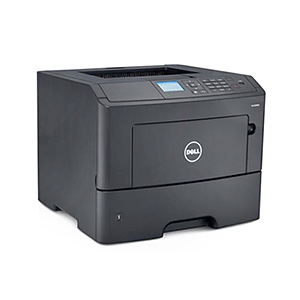 Czarno-biała, monochromatyczna drukarka laserowa Dell B3460dn