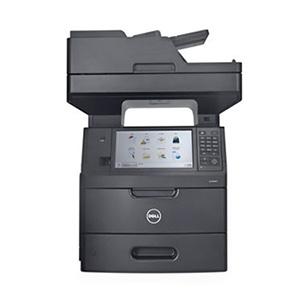 Czarno-biała, monochromatyczna drukarka laserowa Dell B5465dnf