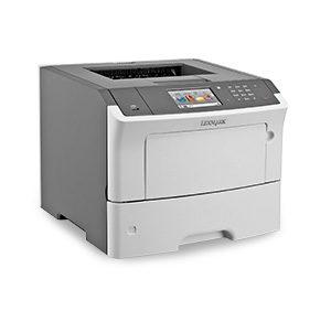 Monochromatyczna drukarka laserowa Lexmark MS610de, MS610dn, MS610dte