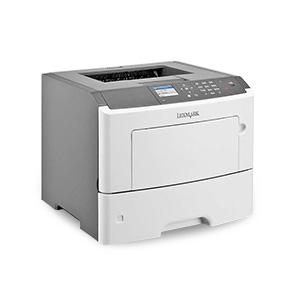 Monochromatyczna drukarka laserowa Lexmark MS617dn