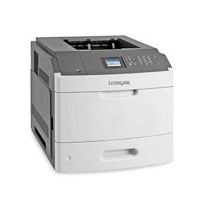 Monochromatyczna drukarka laserowa Lexmark MS812dn, MS812de, MS812dtn