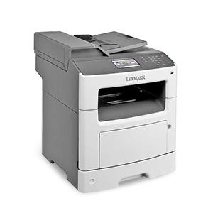Monochromatyczna wielofunkcyjna drukarka laserowa Lexmark MX417de