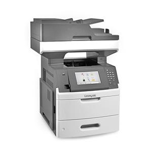 Monochromatyczna laserowa drukarka wielofunkcyjna Lexmark MX710de, MX710dhe