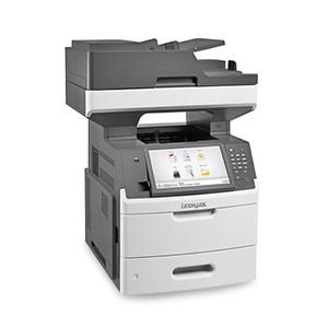 Monochromatyczna laserowa drukarka wielofunkcyjna Lexmark MX711de, MX711dhe