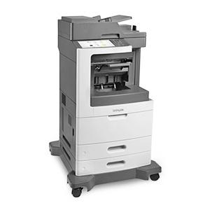 Monochromatyczna wielofunkcyjna drukarka laserowa Lexmark MX811dfe, MX811dme, MX811dpe, MX811dxfe, MX811dxme, MX811dxpe