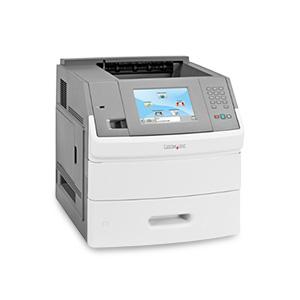 Monochromatyczna drukarka laserowa Lexmark T656dne