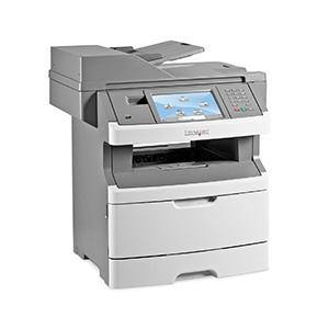 Monochromatyczna wielofunkcyjna drukarka laserowa Lexmark X466de, X466dte, X466dwe