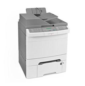 Kolorowa wielofunkcyjna drukarka laserowa Lexmark X546dtn