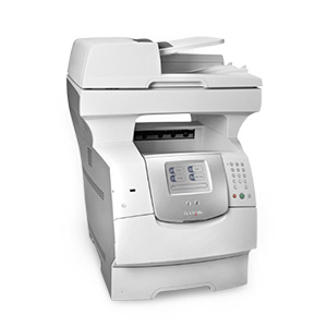 Monochromatyczna wielofunkcyjna drukarka laserowa Lexmark X644e