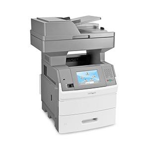 Monochromatyczna wielofunkcyjna drukarka laserowa Lexmark X654de