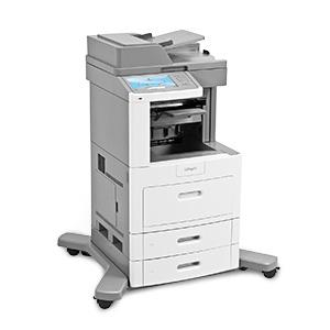 Monochromatyczna wielofunkcyjna drukarka laserowa Lexmark X658dfe, X658dme, X658dtfe, X658dtme
