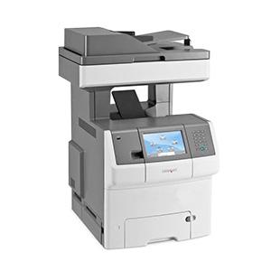 Kolorowa wielofunkcyjna drukarka laserowa Lexmark X738de, X738dte