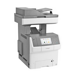 Kolorowa wielofunkcyjna drukarka laserowa Lexmark X746de