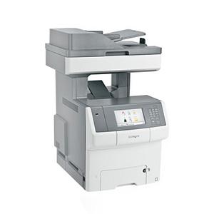 Kolorowa wielofunkcyjna drukarka laserowa Lexmark X748de, X748dte