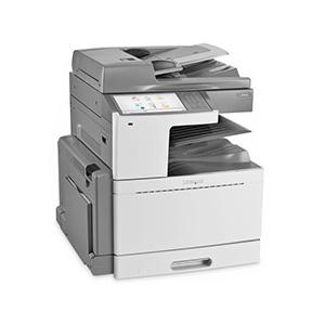 Kolorowa wielofunkcyjna drukarka laserowa Lexmark X950de, X950dhe