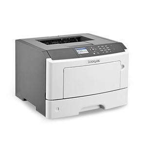 Monochromatyczna laserowa drukarka Lexmark MS510dn