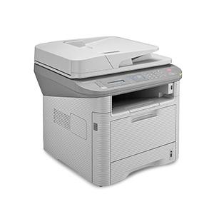 Wielofunkcyjna monochromatyczna drukarka laserowa Samsung SCX-4833FD, SCX-4833FR